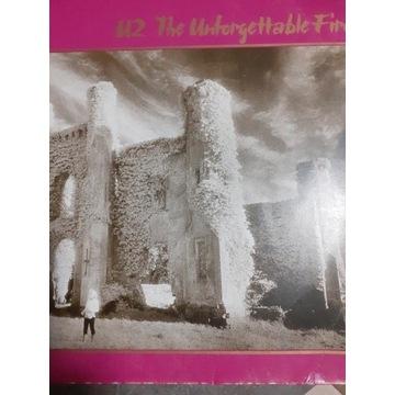 Płyty winylowe U2  The Unforgettable fire