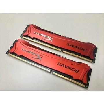 Kingston 2x4GB 1600MHz DDR3 CL9 HX316C9SRK2/8
