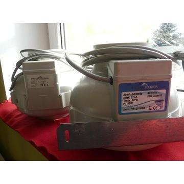 Wentylator Prima Klima PK125 425 l/min Stan BDB