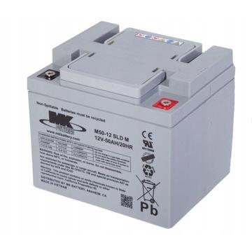 Akumulator MK BATTERY 12V 50Ah żelowy AGM UPS