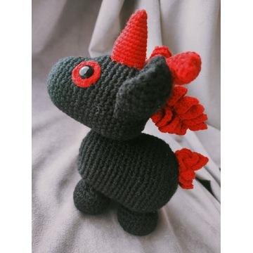 Czarny jednorożec Adopt Me Roblox Evil Unicorn