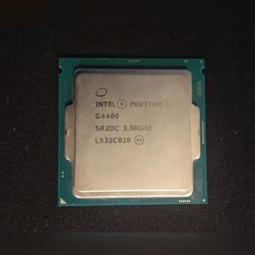 Intel Pentium g4400 3,3GHz + chłodzenie