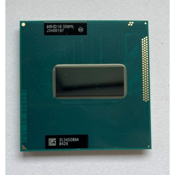 Procesor Intel i7 3720QM (3,6 GHz) 6MB Cache SR0ML