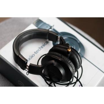 Słuchawki Audio Technica ATH M20X recabling