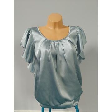 Bluzka atłasowa, Bonprix, rozmiar 42