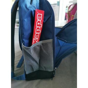 Niebiesko-szary plecak Kappa nowy z metką