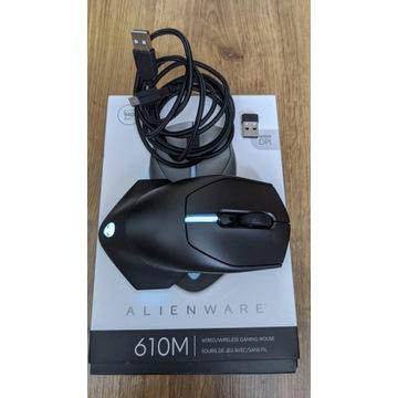 DELL Alienware AW610M, szara, wired/wireless