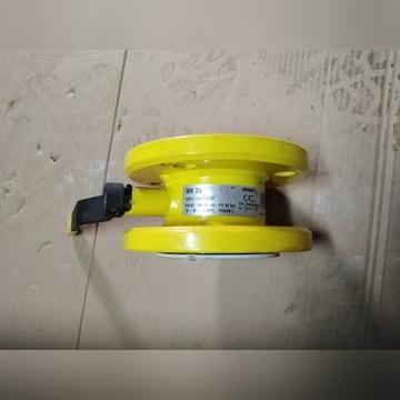 zawór do gazu WK 2A DN 50  PN 16 z rączką