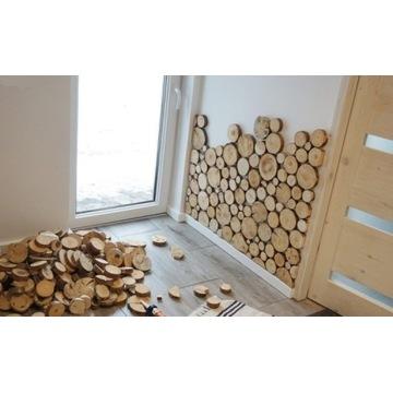 Plastry drewniane 170-180szt. Nowoczesny Design