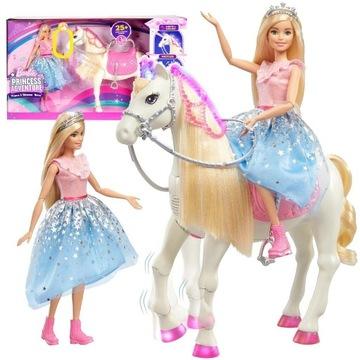 Mattel Barbie Przygody Księżniczek Koń GML79