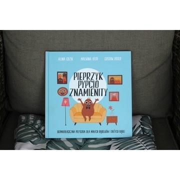 Książka edukacyjna dla dzieci, Pieprzyk Pypcio