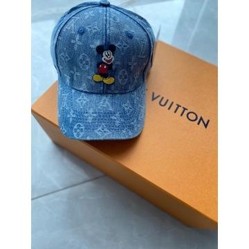 Czapka Jeansowa Louis Vuitton