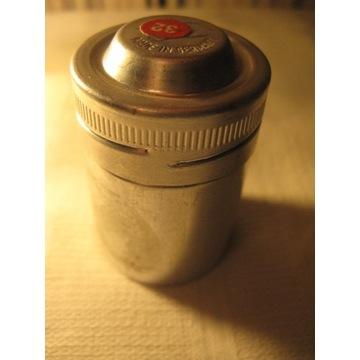 Pojemnik metalowy na negatyw 35mm AGFACHROME 50L