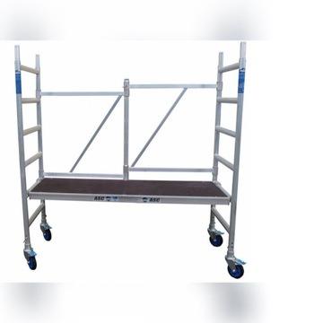 Rusztowanie aluminiowe jezdne pokojowe ASC -3metry