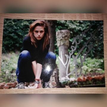 Zdjęcie autograf Kristen Stewart