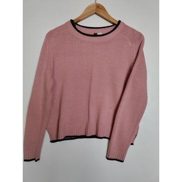 różowy sweterek H&M S