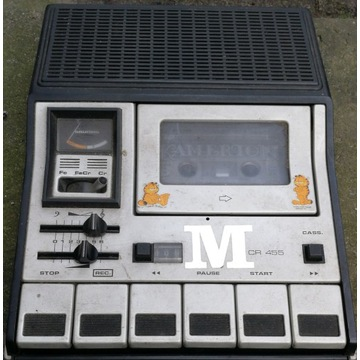 Magnetofon kasetowy GRUNDIG CR455