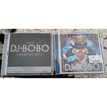 DJ BOBO Greatest Hits,Mystorial,DVD Dancing Las...
