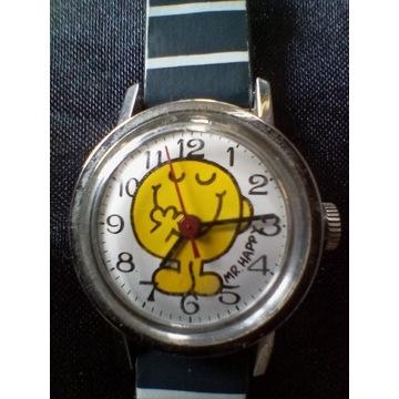 Zegarek mr Happy mechaniczny