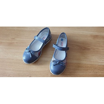 Dziewczęce buciki Lasocki skórzane
