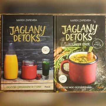 "2 książki ,,Jaglany detoks"""