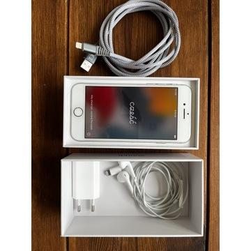 iPhone 8 - 64GB - słuchawki - nowa bateria