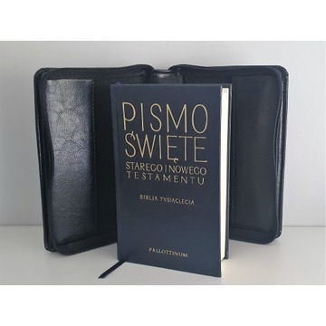 BIBLIA TYSIĄCLECIA -PISMO ŚWIĘTE + OPRAWA SKÓRZANA