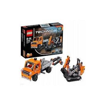 LEGO TECHNIC 42060 Ekipa robót drogowych JAK NOWE