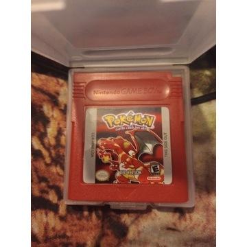 Gra Pokemon Red gameboy color gbc game boy PL