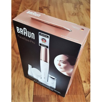 Braun FaceSpa Pro 911, urządzenie do twarzy 3w1