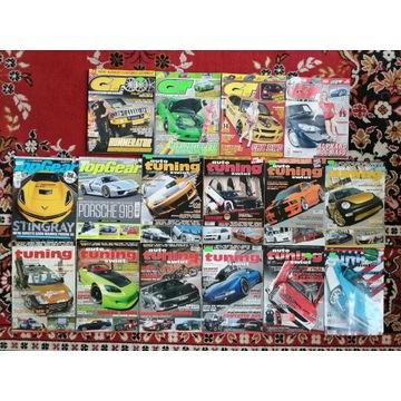 Auto Tuning x 10, Top Gear x 2, GT x 4