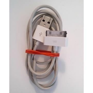 Kabel iPhone iPod nano 30 pin oryginał