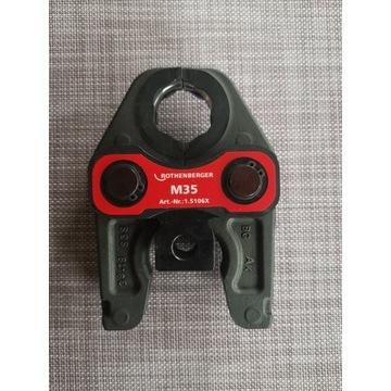 Nowe Szczęki zaciskowe Rothenberger M35
