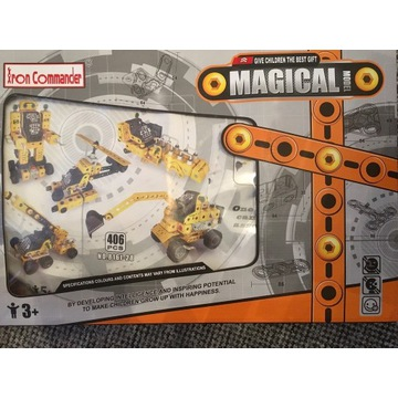 Iron Commander Magical models-Klocki konstrukcyjne