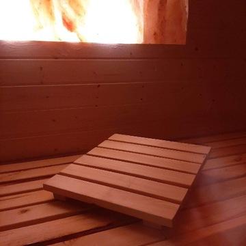 Zagłówek - podgłówek do sauny