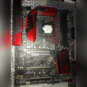 I7 6700k + msi gaming m7 + Windows pro