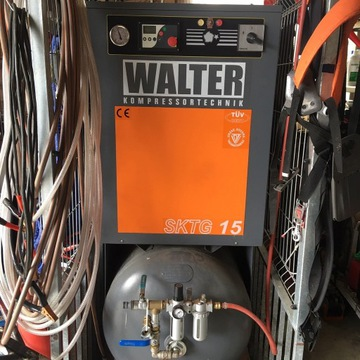 Kompresor Śrubowy WALTER SKTG 15