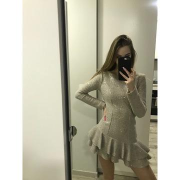 Sukienka cekiny Bizuu