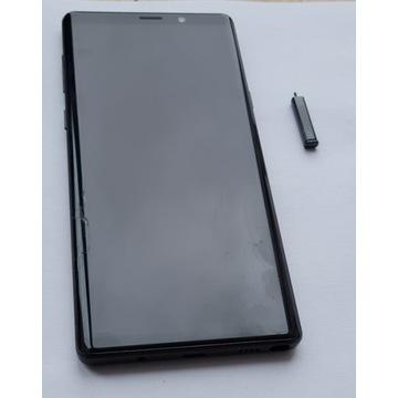 Samsung Note 9 black - szybka i rysik uszkodzone