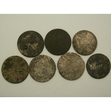 Lot monet srebrnych