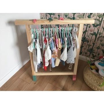 Stojak na ubrania dla Dzieci DREWNO SoSna