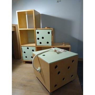 Regalik skrzynia półka dla dziecka sklejka LapGap