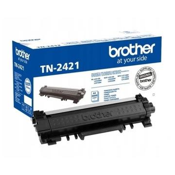 Toner Brother TN2421 Black Oryginalny Nowy TN-2421