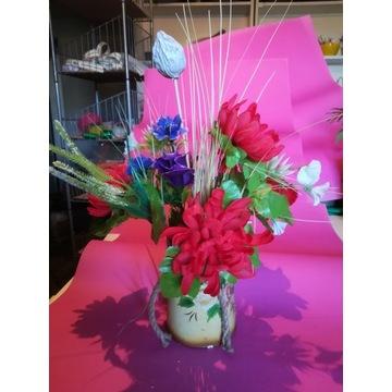 Bukiet z kwiatów letnich