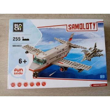 Klocki Blocki ( COBI LEGO kompatybilne ) samoloty