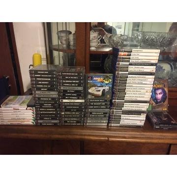 Zestaw gier PSX i PS 2, Wii, PC od kolekcjonera