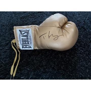 Rękawica z Autografem Tyson Fury !!!!!