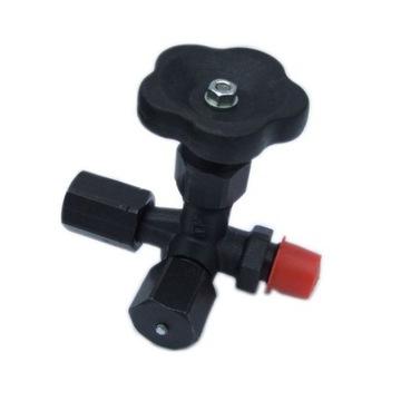 Zawór manometryczny III-drogowy fig-249 PN400