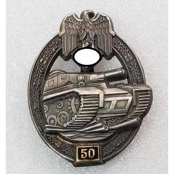 WW2 Niemiecka Odznaka Szturmowa Pancerna III klasy