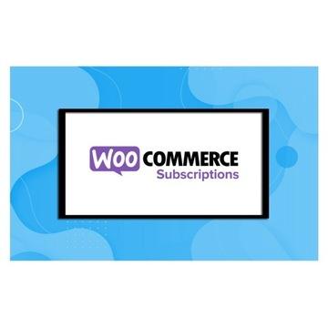 WooCommerce - Subskrypcje (Subscriptions) + Bonus